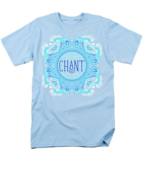 Chant Men's T-Shirt  (Regular Fit) by Tammy Wetzel