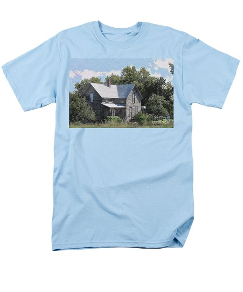 Charming Country Home Men's T-Shirt  (Regular Fit) by Liane Wright