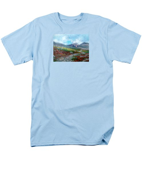 Chasm Lake Trail Men's T-Shirt  (Regular Fit) by Jill Musser