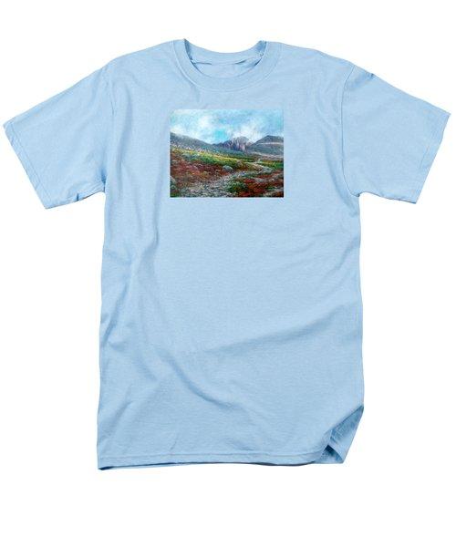Chasm Lake Trail Men's T-Shirt  (Regular Fit)