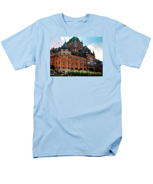 Chateau Frontenac Men's T-Shirt  (Regular Fit) by Robin Regan