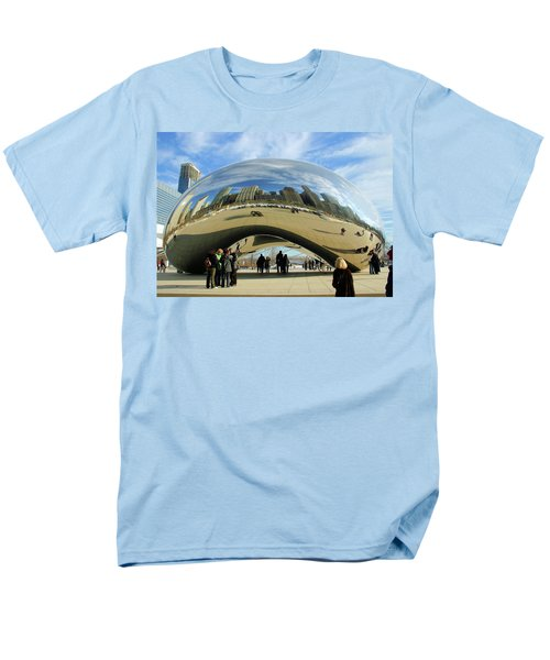 Chicago Reflected Men's T-Shirt  (Regular Fit) by Kristin Elmquist