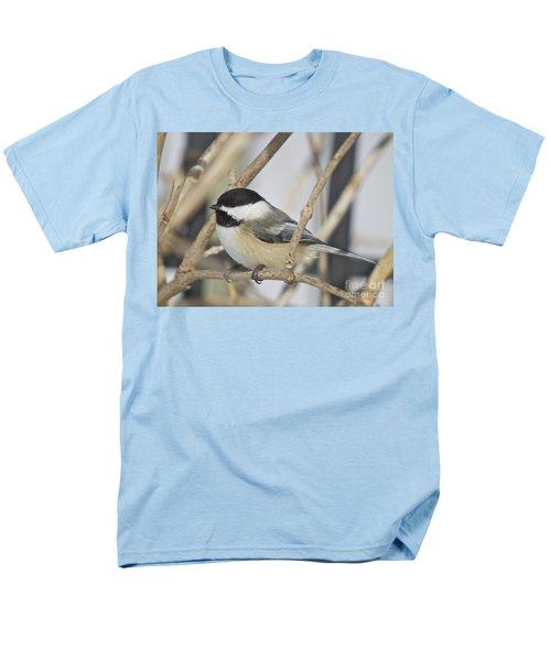 Chickadee-5 Men's T-Shirt  (Regular Fit) by Robert Pearson
