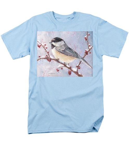 Chickadee Dee Dee Men's T-Shirt  (Regular Fit) by Shana Rowe Jackson