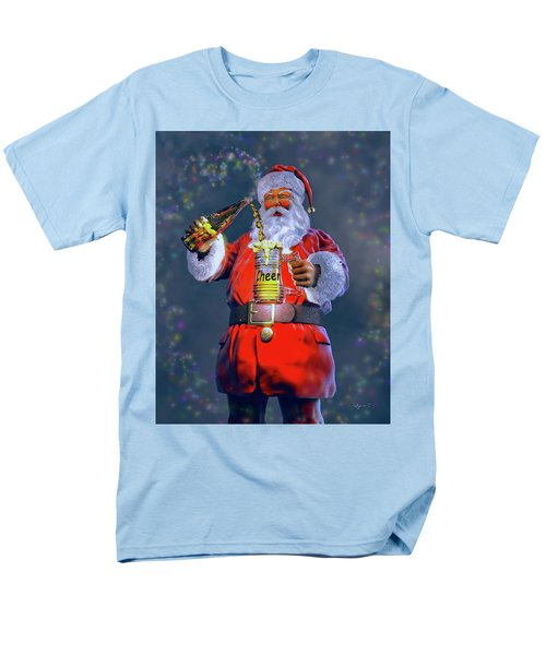 Christmas Cheer Iv Men's T-Shirt  (Regular Fit) by Dave Luebbert