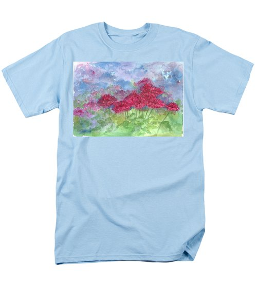 Men's T-Shirt  (Regular Fit) featuring the painting Chrysanthemums by Cathie Richardson
