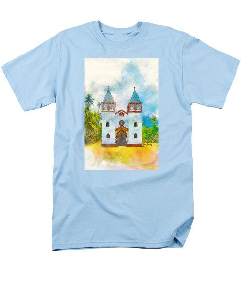 Church Of The Holy Family Men's T-Shirt  (Regular Fit) by Greg Collins