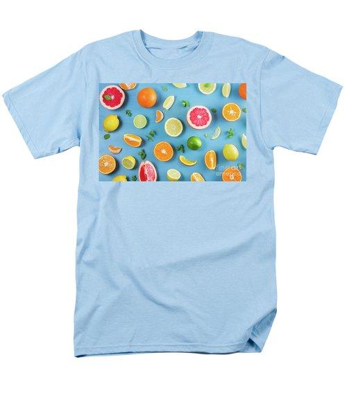 Citrus Summer Men's T-Shirt  (Regular Fit) by Anastasy Yarmolovich