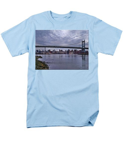 City Scape From Astoria Park Men's T-Shirt  (Regular Fit) by Mikki Cucuzzo