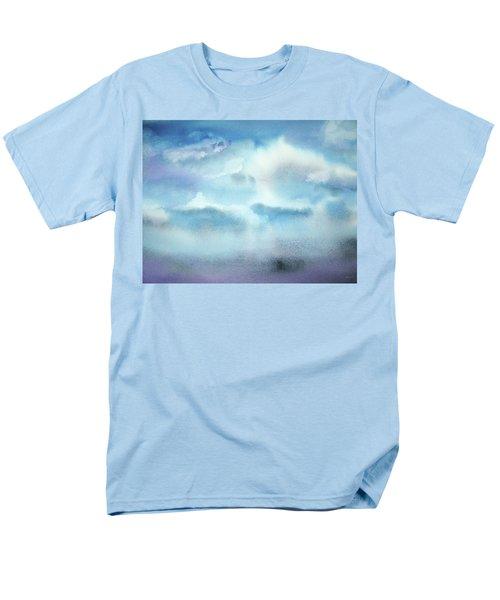 Men's T-Shirt  (Regular Fit) featuring the painting Cloudscape by Ellen Levinson