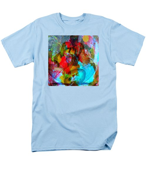 Men's T-Shirt  (Regular Fit) featuring the mixed media Cocktail by Fania Simon