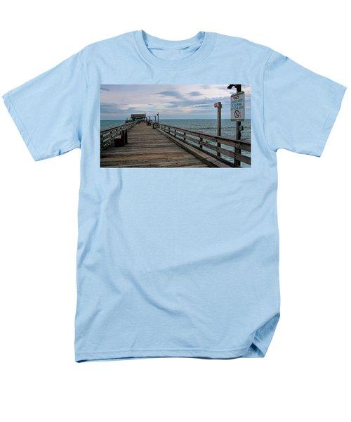 Cocoa Beach  Men's T-Shirt  (Regular Fit) by Pat Cook