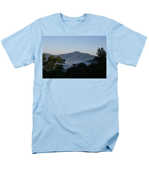 Cold Mountain North Carolina Men's T-Shirt  (Regular Fit) by Stacy C Bottoms