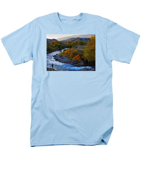 Color On The Fly Men's T-Shirt  (Regular Fit) by Laura Ragland