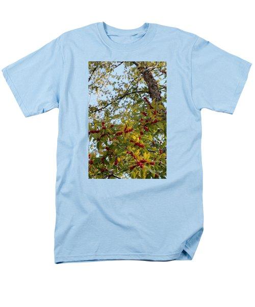 Colorful Contrasts Men's T-Shirt  (Regular Fit) by Deborah  Crew-Johnson
