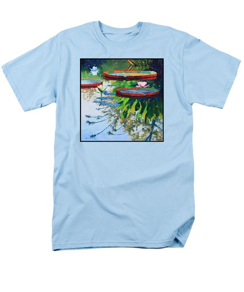 Colorful Reflections Men's T-Shirt  (Regular Fit) by John Lautermilch