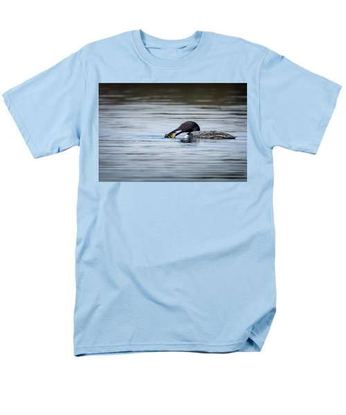Common Loon Men's T-Shirt  (Regular Fit) by Bill Wakeley