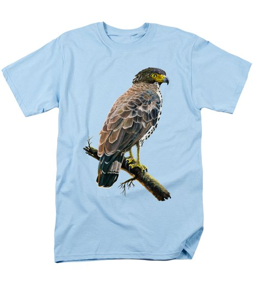 Congo Serpent Eagle Men's T-Shirt  (Regular Fit) by Anthony Mwangi