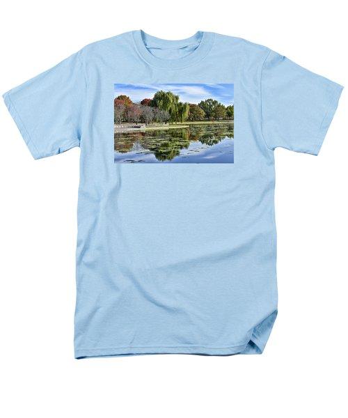 Constitution Gardens On The National Mall Men's T-Shirt  (Regular Fit)
