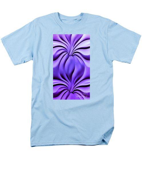 Men's T-Shirt  (Regular Fit) featuring the photograph Contemplation In Purple by Roberta Byram