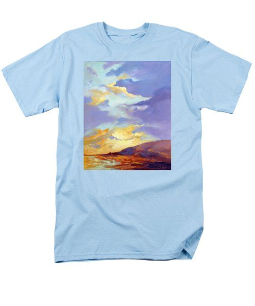 Men's T-Shirt  (Regular Fit) featuring the painting Convergence by Rae Andrews