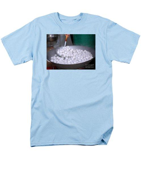 Cooking Chinese Fish Balls Men's T-Shirt  (Regular Fit)