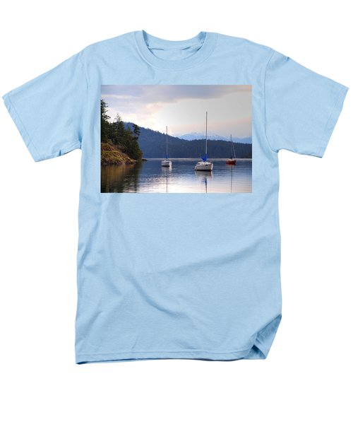Cooper's Cove 1 Men's T-Shirt  (Regular Fit) by Randy Hall