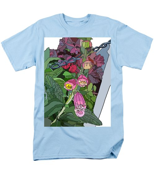Coral Bells In The Garden Men's T-Shirt  (Regular Fit) by Jamie Downs