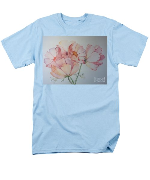 Men's T-Shirt  (Regular Fit) featuring the painting Cosmea by Iya Carson
