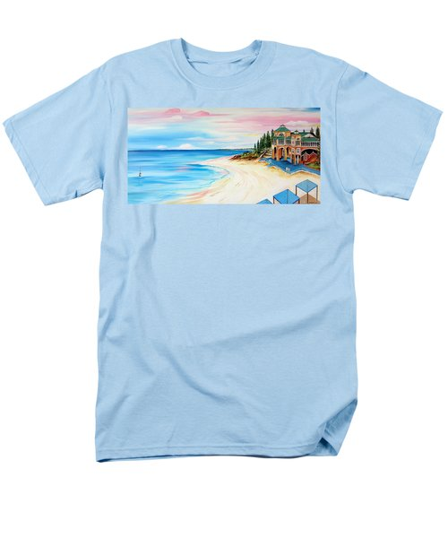 Cottesloe Beach Indiana Tea House Men's T-Shirt  (Regular Fit)