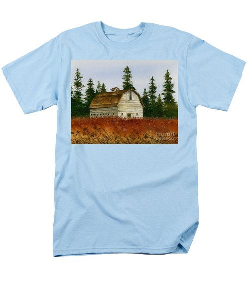 Men's T-Shirt  (Regular Fit) featuring the painting Country Landscape by James Williamson