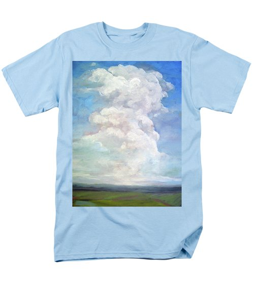 Men's T-Shirt  (Regular Fit) featuring the painting Country Sky - Painting by Linda Apple