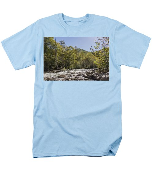 Crooked Tree Curve Men's T-Shirt  (Regular Fit) by Ricky Dean