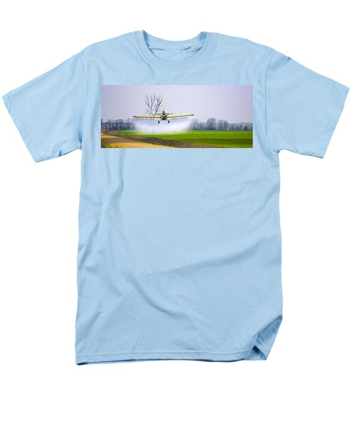 Precision Flying - Crop Dusting 1 Of 2 Men's T-Shirt  (Regular Fit) by Charlie Brock