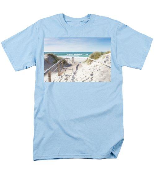 Crossing The Dune Men's T-Shirt  (Regular Fit) by Edgar Laureano