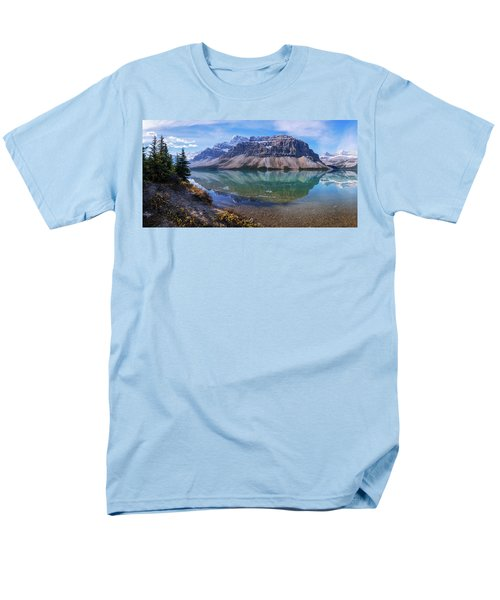 Men's T-Shirt  (Regular Fit) featuring the photograph Crowfoot Reflection by Chad Dutson