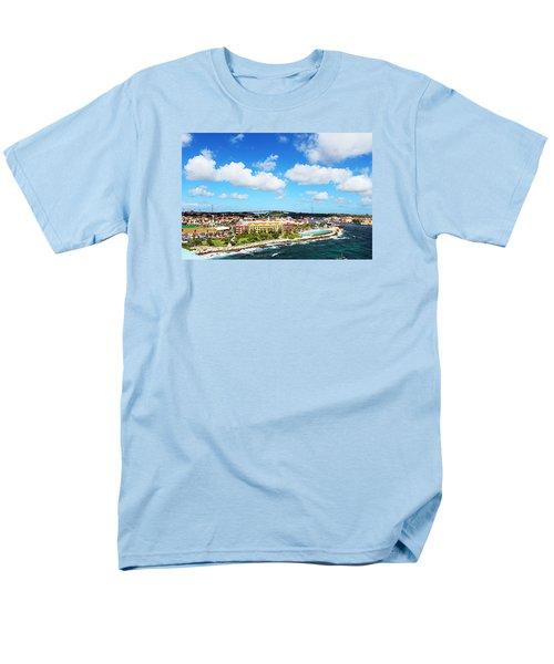 Curazao Men's T-Shirt  (Regular Fit) by Infinite Pixels