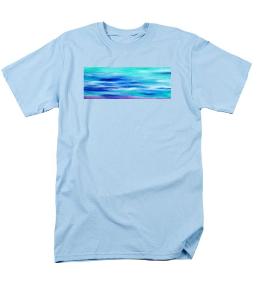 Men's T-Shirt  (Regular Fit) featuring the painting Cy Lantyca 28 by Cyryn Fyrcyd
