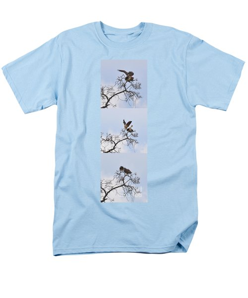 Men's T-Shirt  (Regular Fit) featuring the photograph Cycle Of Life-view  Whole Screen by Debby Pueschel