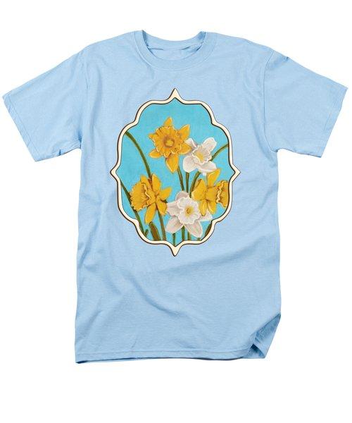 Daffodils Men's T-Shirt  (Regular Fit) by Anastasiya Malakhova