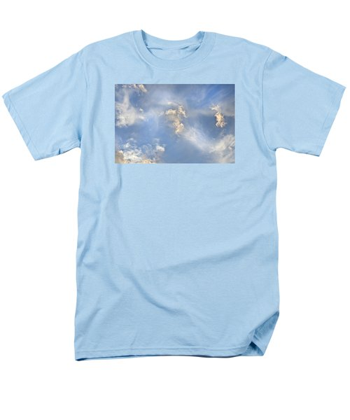 Dancing Clouds Men's T-Shirt  (Regular Fit) by Wanda Krack