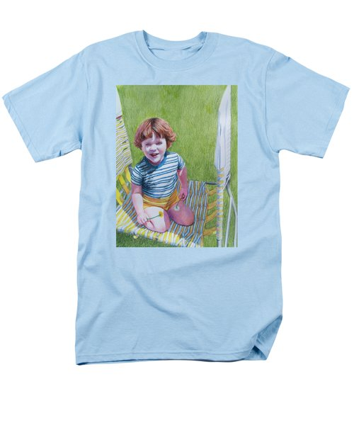 Dandelion Girl Men's T-Shirt  (Regular Fit) by Constance DRESCHER