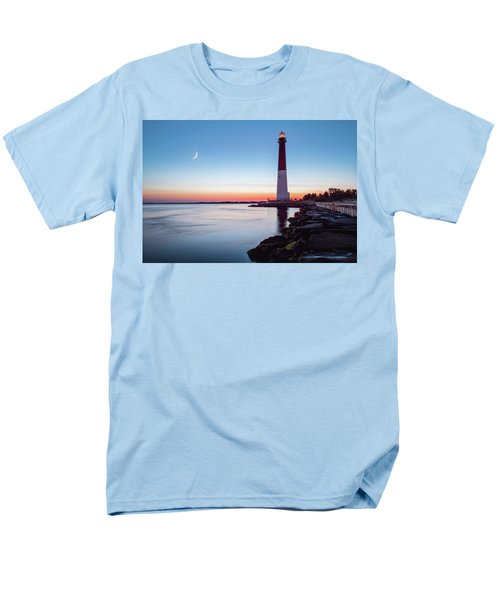 Men's T-Shirt  (Regular Fit) featuring the photograph Daybreak At Barnegat by Eduard Moldoveanu