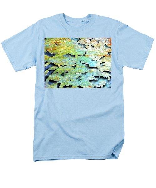 Men's T-Shirt  (Regular Fit) featuring the mixed media Deep by Tony Rubino