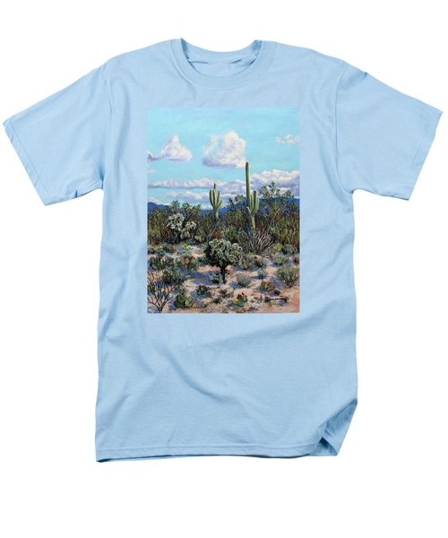 Desert Landscape Men's T-Shirt  (Regular Fit) by M Diane Bonaparte