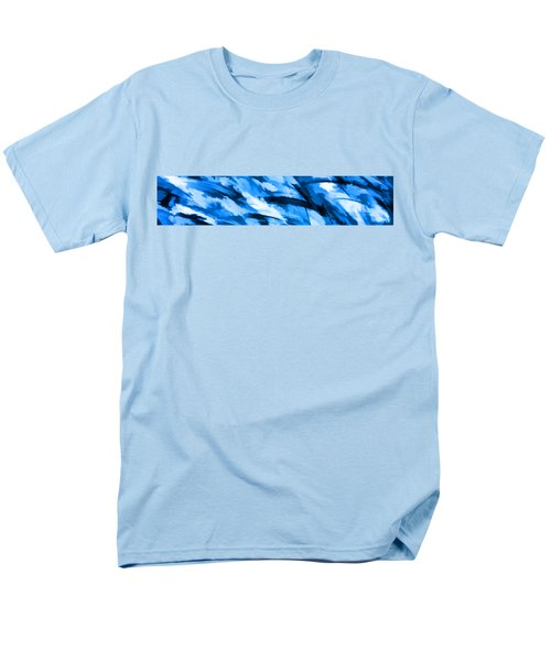 Designer Camo In Blue Men's T-Shirt  (Regular Fit) by Bruce Stanfield