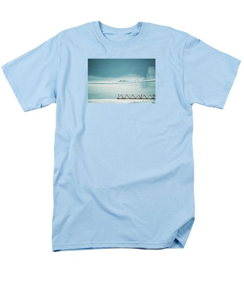 Men's T-Shirt  (Regular Fit) featuring the photograph Designs And Lines - Winter In Switzerland by Susanne Van Hulst