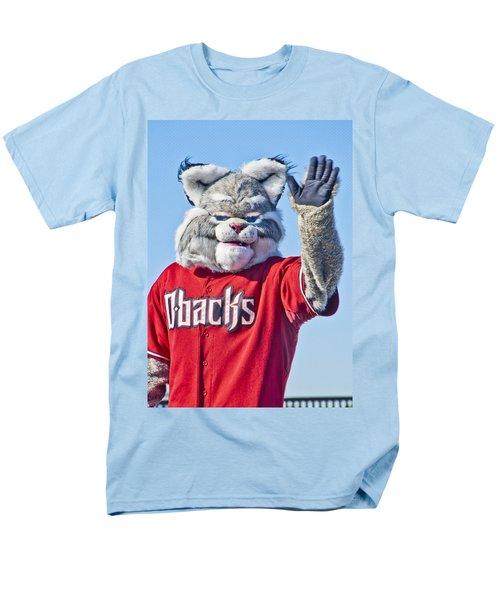 Diamondbacks Mascot Baxter Men's T-Shirt  (Regular Fit) by Jon Berghoff