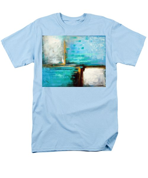 Men's T-Shirt  (Regular Fit) featuring the painting Divided Loyalties by Suzanne McKee