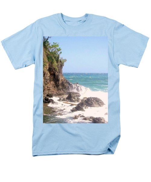 Men's T-Shirt  (Regular Fit) featuring the photograph Dominica North Atlantic Coast by Ian  MacDonald